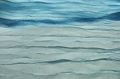 picture of aquamarine  - Blue Wavy Aquamarine Fabric Texture Background Close - JPG