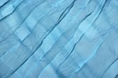 pic of twisty  - Abstract Blue Soft Chiffon Fabric Texture or Background Close - JPG