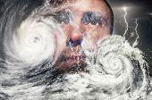 picture of typhoon  - Typhoon - JPG