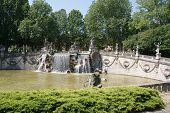 foto of turin  - Fountain of the Twelve Months in Turin Italy - JPG