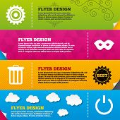 picture of anonymous  - Flyer brochure designs - JPG