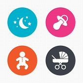 picture of buggy  - Circle buttons - JPG