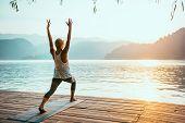 Yoga Sun Salutation poster
