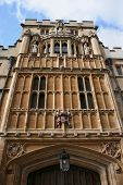 Architecture Of Oxford University poster