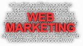Concepto de Marketing Web
