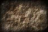 Dark Vignetting Vignette And Rocky Stone Surface Texture Background poster
