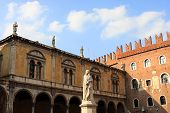 picture of alighieri  - Piazza dei Signori - JPG