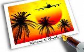 Постер, плакат: Добро пожаловать в рай