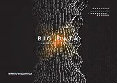 Artificial Intelligence Background. Digital Technology, Deep Learning And Big Data Concept. Abstract poster