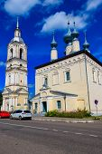 Smolensk Church In Suzdal, Russia. Golden Ring Of Russia poster