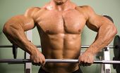 stock photo of lifting weight  - Close - JPG
