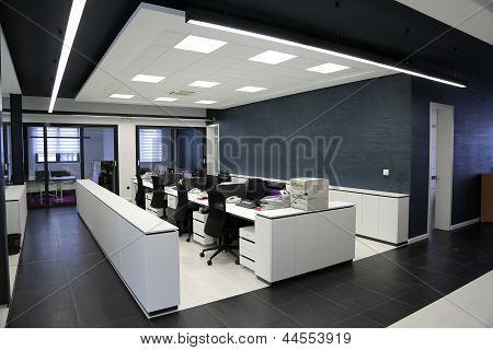 D render of modern interior mockup in minimalistic style with