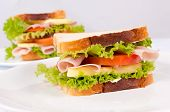 Постер, плакат: Вкусный бутерброд