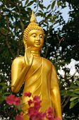 Постер, плакат: Золотой Будда статуя Бангкок Таиланд
