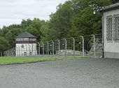 Image of buchenwald concentration camp.