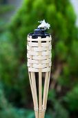 pic of tiki  - Decoration tiki oil torche for lighting or insect repellent - JPG