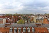 image of kensington  - West view over South Kensington roofs in London