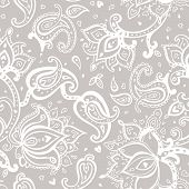 pic of east-indian  - Seamless Paisley background - JPG