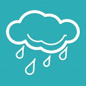 picture of scat  - Rain Weather Icon - JPG