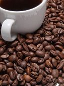picture of vivacious  - A cup of coffe to get energy and become vivacious - JPG
