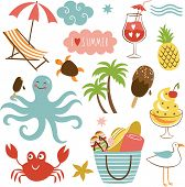 foto of octopus  - Summer images set - JPG