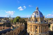 foto of church-of-england  - The Oxford University City Photo in the top of tower in St Marys Church - JPG