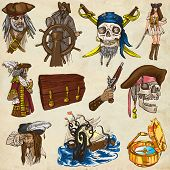 pic of kraken  - Pirates Buccaneers and Sailors  - JPG