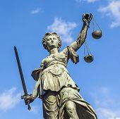 image of judiciary  - Justitia  - JPG