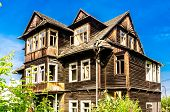 image of guest-house  - ruined guest house in the mountain style - JPG