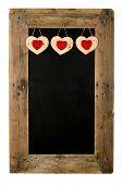 picture of wooden pallet  - Happy Valentine - JPG