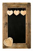 foto of wooden pallet  - Happy Valentine - JPG
