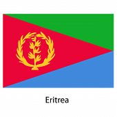 picture of eritrea  - Flag of the country eritrea - JPG