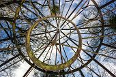 picture of gazebo  - rings from the rest of the gazebo  - JPG
