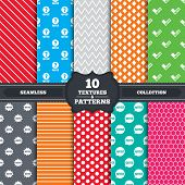 picture of quiz  - Seamless patterns and textures - JPG