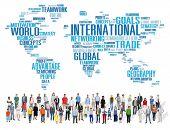 picture of globalization  - International World Global Network Globalization International Concept - JPG