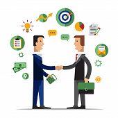 picture of partnership  - Successful partnership - JPG