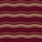 foto of marsala  - Vector Seamless Wavy Marsala Pattern fully editable eps 10 file with seamless pattern in swatch menu - JPG