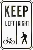 picture of pedestrians  - United States traffic sign - JPG