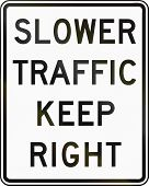 picture of traffic rules  - United States traffic sign - JPG