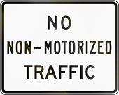 pic of traffic rules  - United States traffic sign - JPG