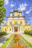 foto of uglich  - Russia Spaso-Preobrazhensky Cathedral in Uglich summer landmark religion  ** Note: Visible grain at 100%, best at smaller sizes - JPG