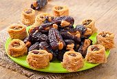 picture of lenten  - Oriental sweets and dates stuffed with cashew - JPG