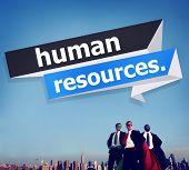 pic of recruitment  - Human Resources Employment Job Recruitment Concept - JPG