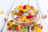 image of close-up shot  - Colorfull Jelly Beans  - JPG