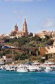 picture of gozo  - Port of Mgarr on the small island of Gozo Malta - JPG
