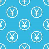 image of yen  - Yen symbol in circle - JPG