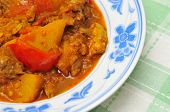 Asian Spicy Mutton Curry poster