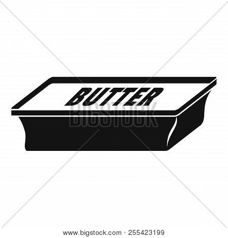 poster of New Butter Pack Icon. Simple Illustration Of New Butter Pack Icon For Web Design Isolated On White B