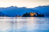 Lake Maggiore Is A Large Lake Located On The South Side Of The Alps. It Is The Second Largest Lake I poster