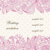 foto of wedding invitation  - Wedding invitation cover - JPG